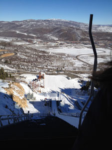 View from 120M ski jump