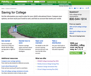 Fidelity: 529 college planning